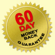 60 Day money back guarantee pledge